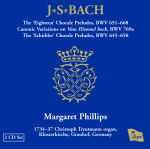 Thumbnail image of J.S. Bach Volume I CD cover